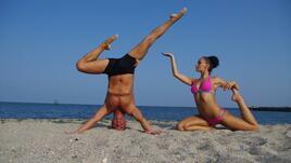Йога на открито с Дани