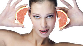 Грейпфрут + захар = ароматен скраб за тяло
