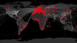 Вижте как плъзват вирусните епидемии