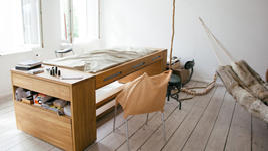 2 в 1: бюро и легло