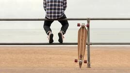 Скейтборд, ама дълъг
