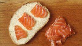 Вкусен сандвич за суши-маниаците