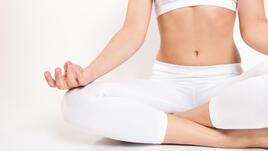 7 минути йога за дълбок сън