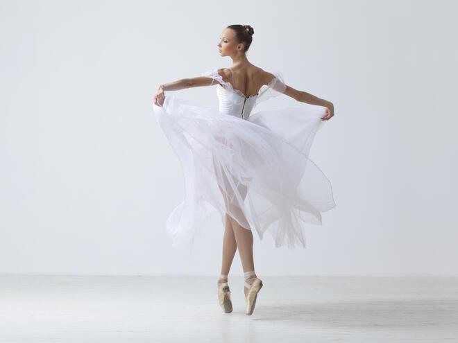 Упражнения за красива стойка и секси рамене на балерина!