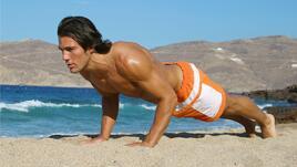 10 минути тренировка за гърди