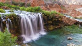 Виртуално пътуване до водопада Хавасупай в Аризона
