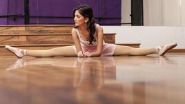 Балетни упражнения за вътрешната част на бедрата