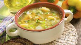 Вкусна зеленчукова супа с амарант