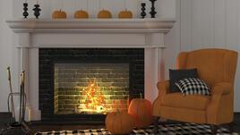 Есен в дома