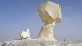 Бялата пустиня в Египет
