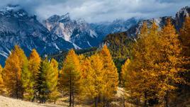 Есен в Италия