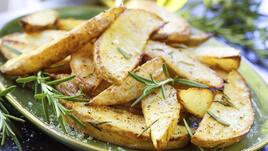 Ароматни хрупкави картофи на фурна