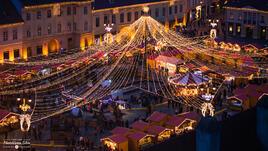 Коледният пазар в Румъния