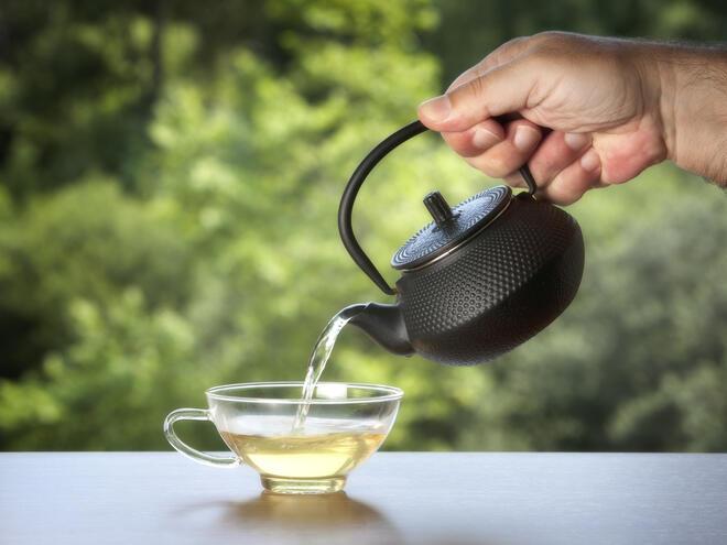 Бял чай за добро здраве