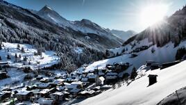 Заснежените склонове на магическите Алпи