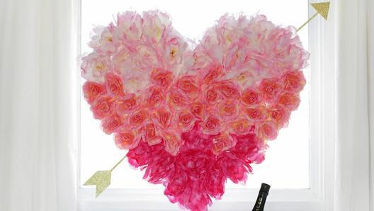 Направете си сърце за Свети Валентин