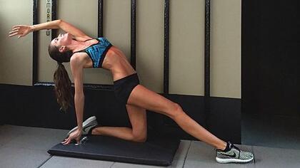 Фитнес-мотивиращи Инстаграм профили - Изабел Гулар