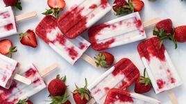 Плодов сладолед на клечка