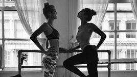 Балетна тренировка за красива осанка