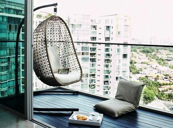Интериорни идеи за балкона