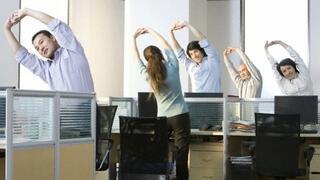 Упражнения срещу схващанията в офиса