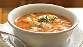Супа от риба, раци и миди