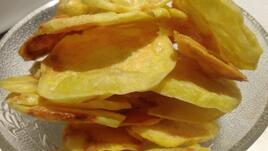 Бърз картофен чипс без пържене