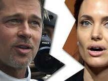 Анджелина се е стопила след развода с Брад Пит