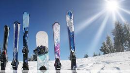 Упражнения за скиори