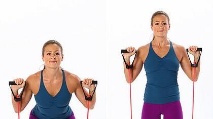 Упражнения с ластици за всички части на тялото