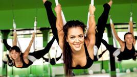 Въздушна йога: най-добрият начин да опознаеш себе си и да влезеш във форма