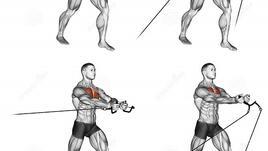 Кросоувър /Упражнения за гърди/