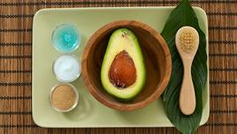 Спа идеи: маска от авокадо и банан