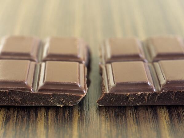 Черният шоколад като фитнес приятел