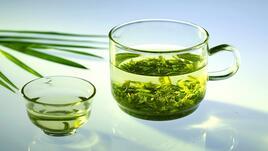 Спа идеи със зелен чай