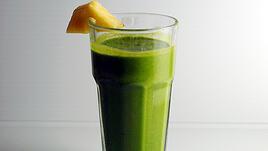 Зелено бананово смути