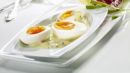 Варени яйца за закуска