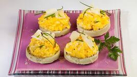Необикновена яйчена салата