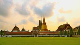 Банкок: кралският дворец