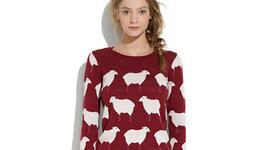 Есен в гардероба: пуловер с животинска апликация