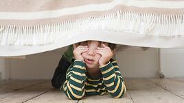 Винаги проверявайте за учени под леглото!