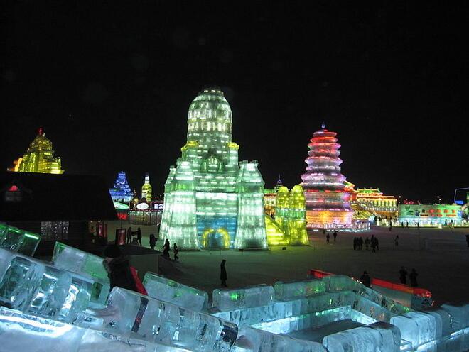 Фестивал на снежните и ледени фигури
