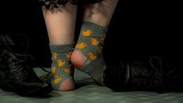 Използвайте старите чорапи
