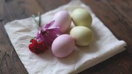 О, да! Натурална боя за яйца