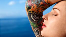 За лятото и татуировките