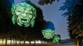 Дърветата оживяват със зловещи лица