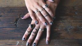 Цветчета по ноктите